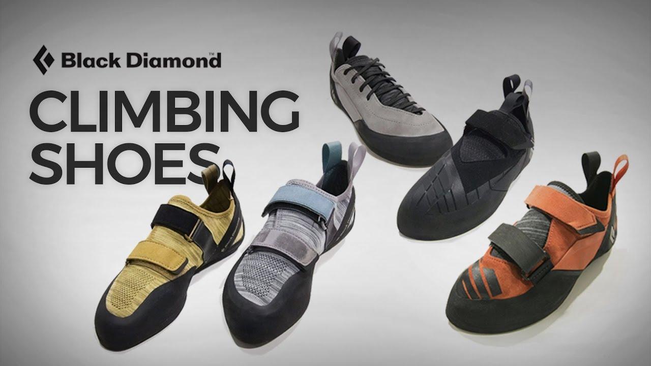 8812349962f Black Diamond Climbing Shoes - YouTube