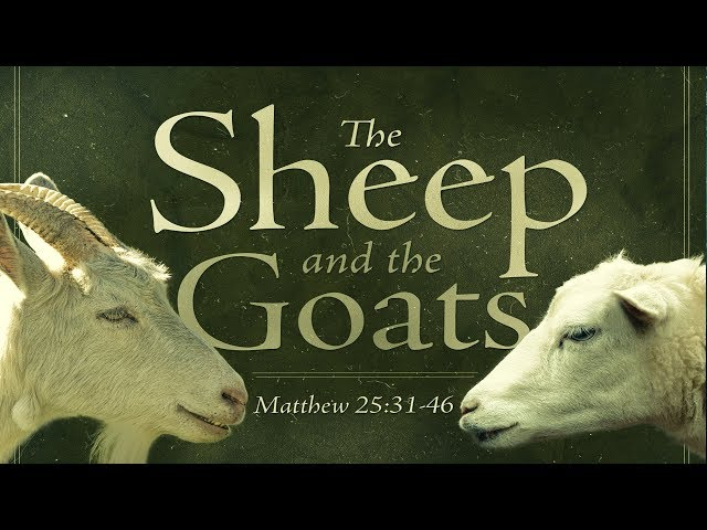 The Sheep & The Goats Parable: As You've Never Seen It
