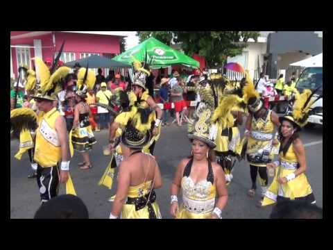 Aruba Carnival 59 Grand Parade Oranjestad feb 10   2013 Travel Video