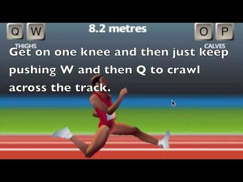 How to win at QWOP! Win Every Time! [Cheating]