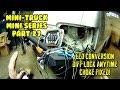 Hijet (se01 Ep27) Led Conversion Wiring. Any Time Posi Diff Lock. Choke Fixed S83p Mini Truck
