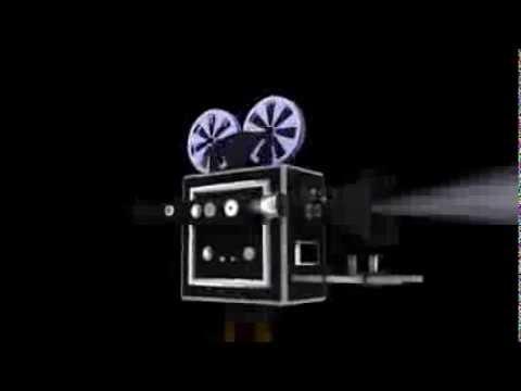 Old film camera logo animation