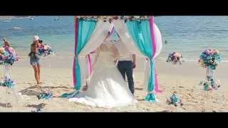 Анастасия и Алексей. Свадьба на Пхукете. Тайланд 24.01.2015. Phuket Wedding Dream