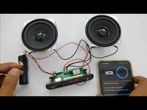 Direct Speaker To MP3 player | Direct Speaker MP3 USB bluetooth Aux module connections and review