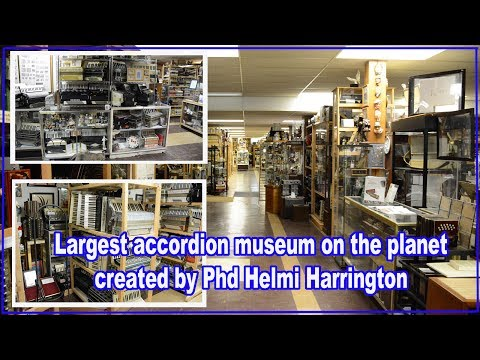 Accordion Museum - The Worlds Largest Collection - Wisconsin