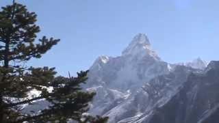 Everest Trekking - Mt. Everest From Synboche