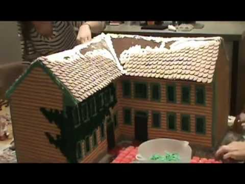 Gingerbread House 2012: The General's Residence
