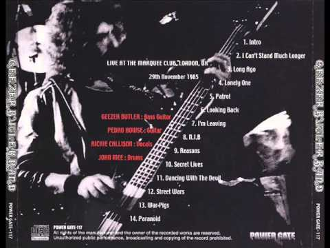 Geezer Butler band - Live at the Marquee Club 1985