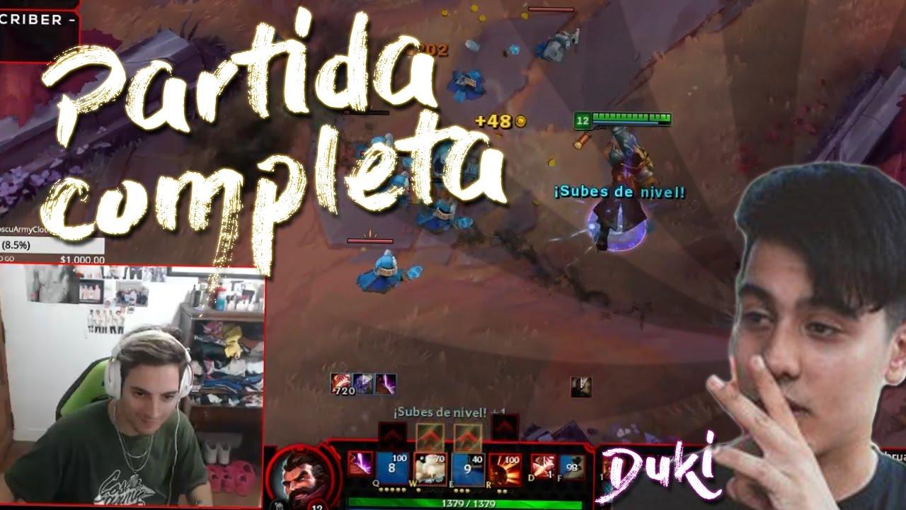 Duki fuera de control partida completa youtube for Fuera de control dmax