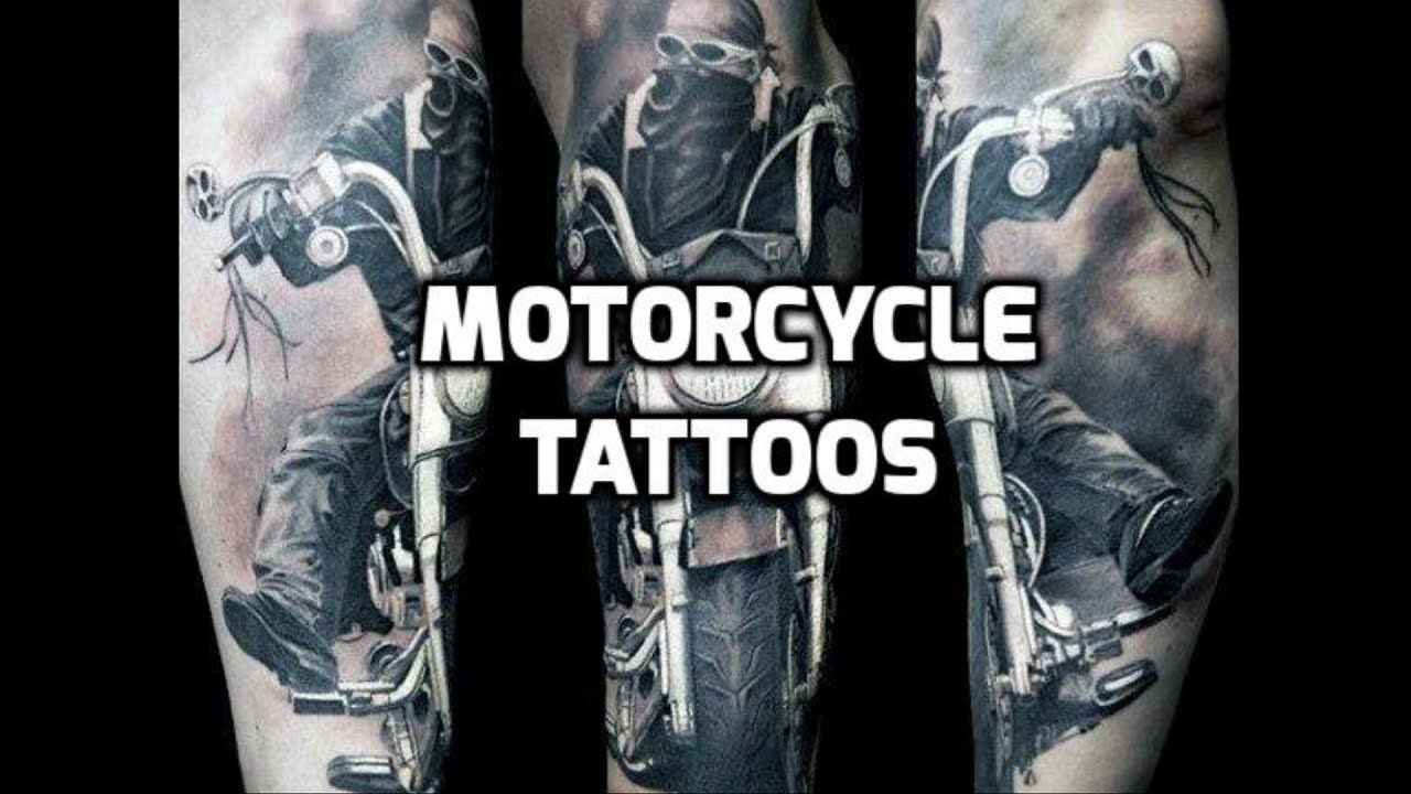 203bc0934 Motorcycle Tattoos HD - Best Motorcycle Tattoo Designs - YouTube