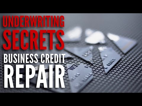 Business Credit Repair | Small Business Loans Underwriting S