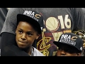 LeBron says LeBron James Jr. shoots and passes better than he did