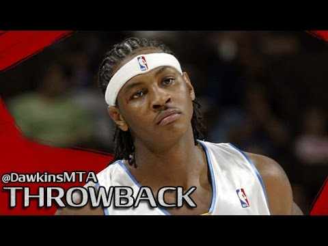 Rookie Carmelo Anthony Full Highlights 2004.03.30 vs Sonics - Young Melo With 41 Pts, 19 FGM!