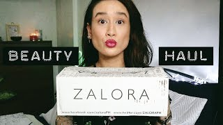 HIGH END BEAUTY HAUL! | Caudalie, Charlotte Tilbury & Zalora | Karla Aguas