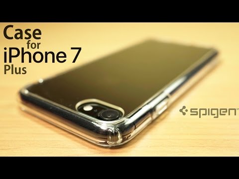 Best Transparent Case for iPhone 7 Plus? (Jet Black) | Spigen Ultra Hybrid Crystal Clear