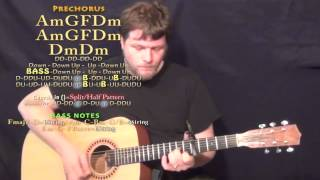 I Need Your Love (Shaggy) Guitar Lesson Chord Chart - Capo 5th