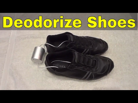 3 Ways To Deodorize Shoes-How To Stop Shoe Odor