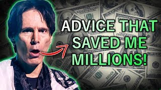 Steve Vai: Advice From Frank Zappa That Saved Me MILLIONS of Dollars!