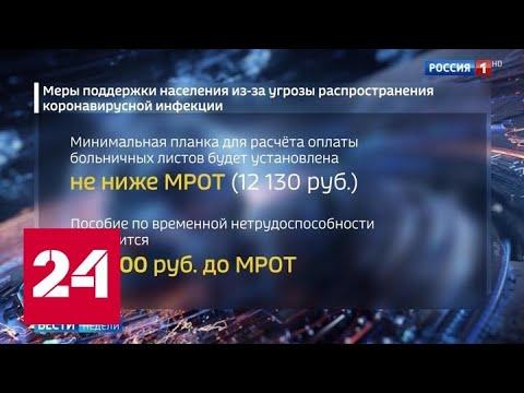 Поручения президента: самых незащищенных поддержат прежде всего - Россия 24