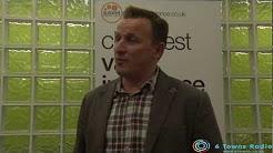 Ian Donaldson of Autonet Insurance at the 6 Towns Radio Stoke - on - Trent Awards ceremony 2013.