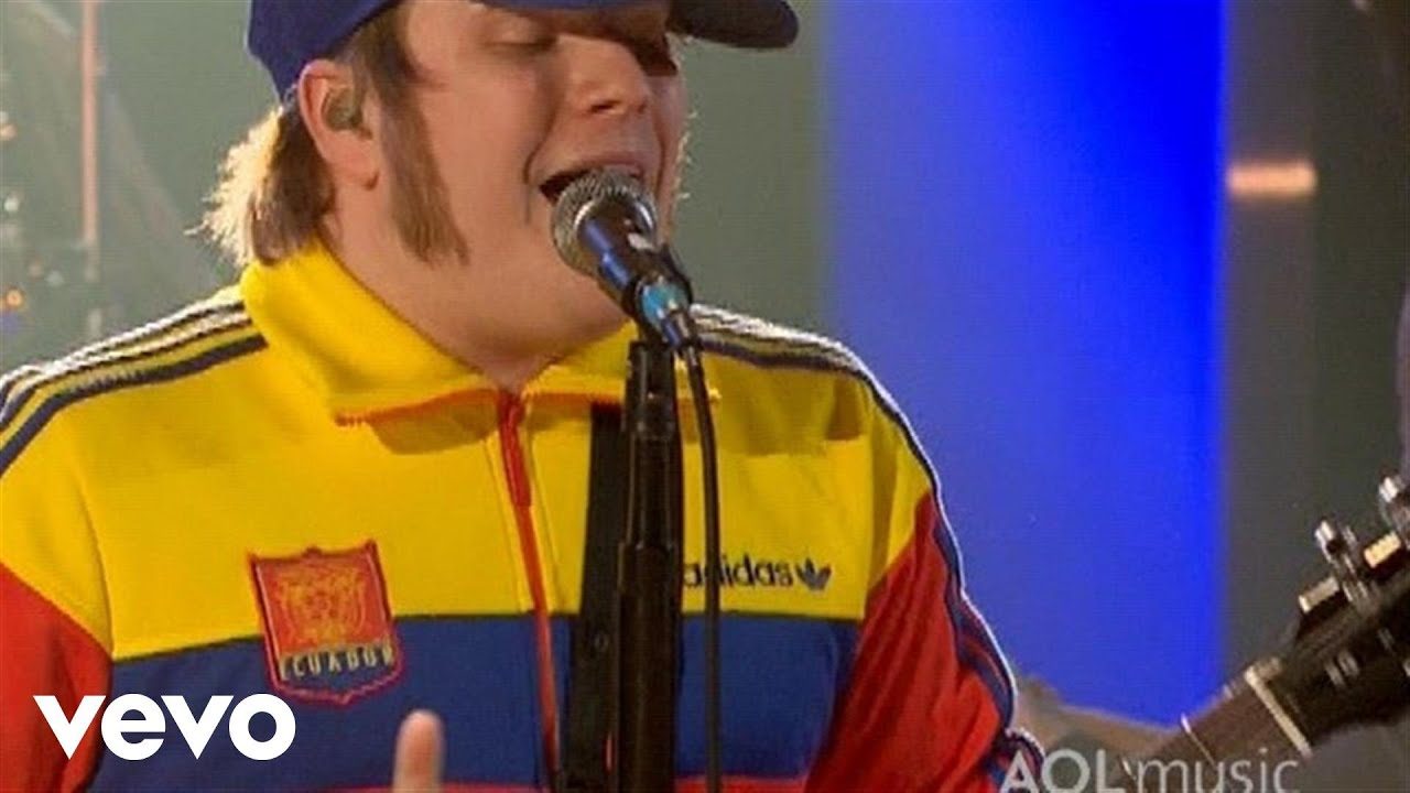 Fall Out Boy - Of All The Gin Joints In All The World (AOL Music Live)