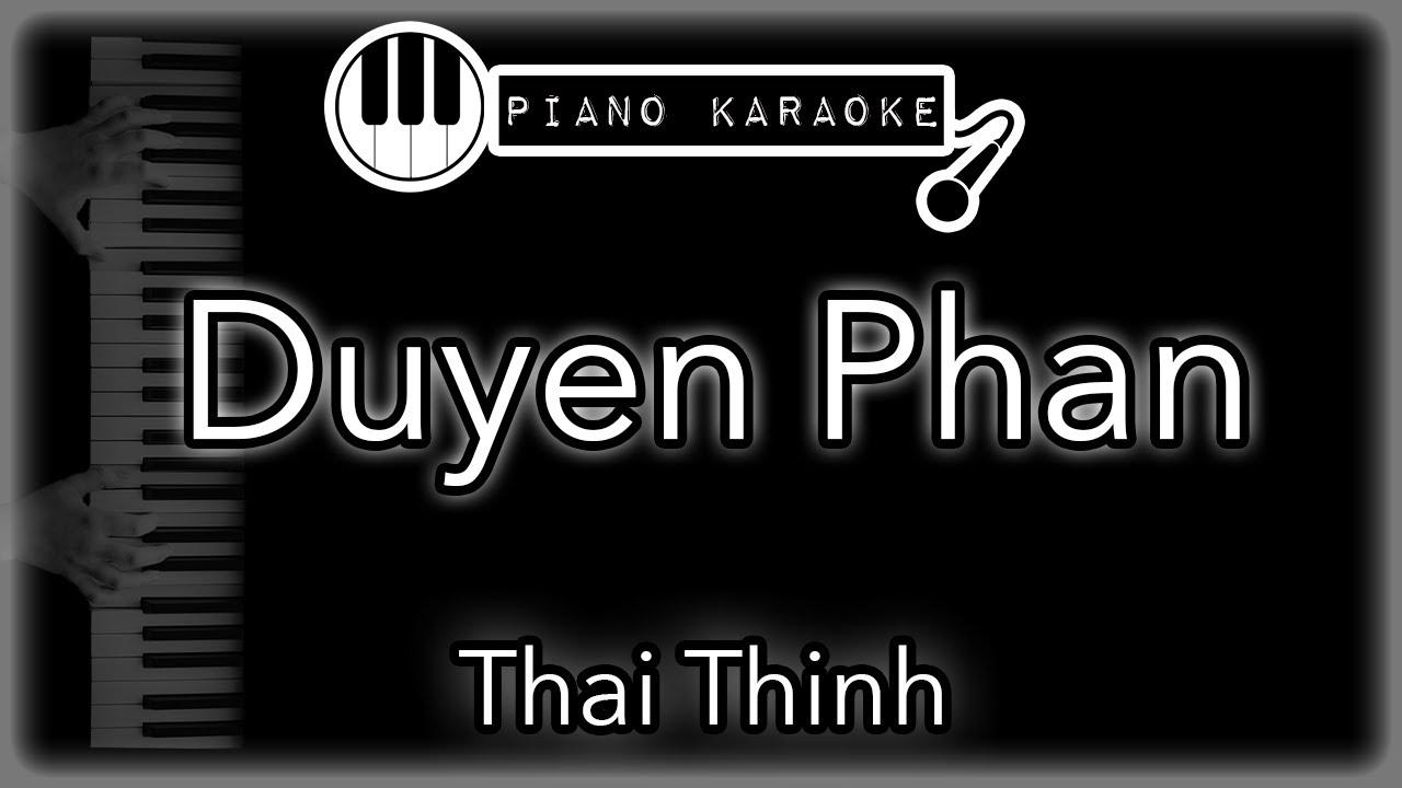 Duyên Phận – Thái Thịnh – Piano Karaoke Instrumental