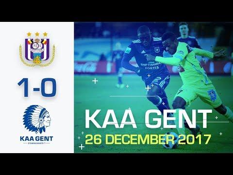 🎬 RSC Anderlecht - KAA Gent (1-0)