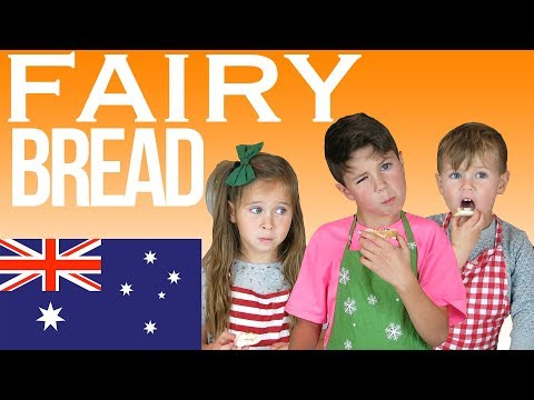 American kid claims to be the creator of Australian fairy bread