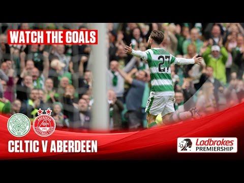 Goals! Celtic beat Aberdeen to win the title