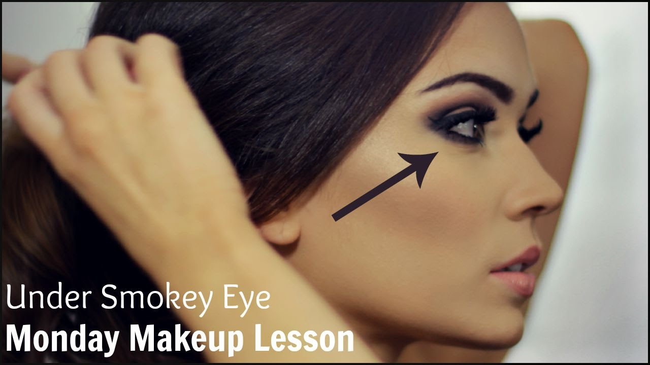 Under Eye Smokey 5 Step Themakeupchair Youtube