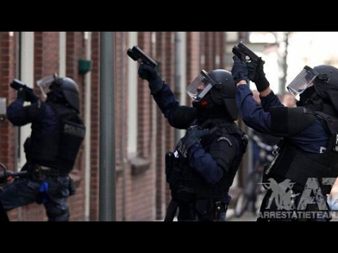 HEFTIGE ARRESTATIETEAM DOCUMENTAIRE !!