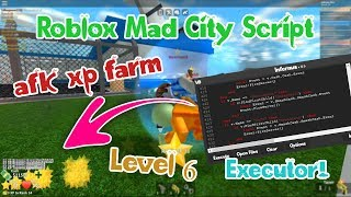 [Roblox] 😱Mad City AFK XP Farm-Skript mit freiem Level 6 Executor!😱 | Arbeiten ✔️| 8. Mär