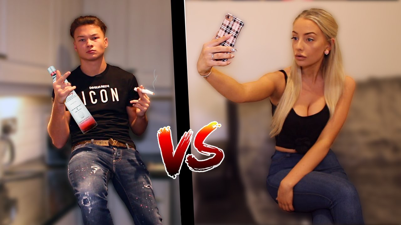 BOYS vs GIRLS on INSTAGRAM