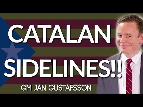 Chess Openings for Black 😲 Dealing with Catalan Sidelines with GM Jan Gustafsson