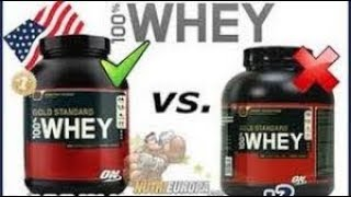 Optimum Nutrition Gold Standard 100% Whey Protein | unboxing | Genuine vs Fake Must watch