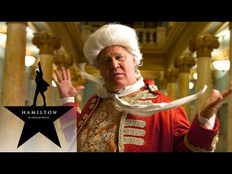 Hamilton the Musical -  YOU'LL BE BACK in Real Life King Geo