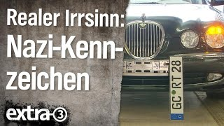 Realer Irrsinn:  Nazi-Kennzeichen | extra 3 | NDR
