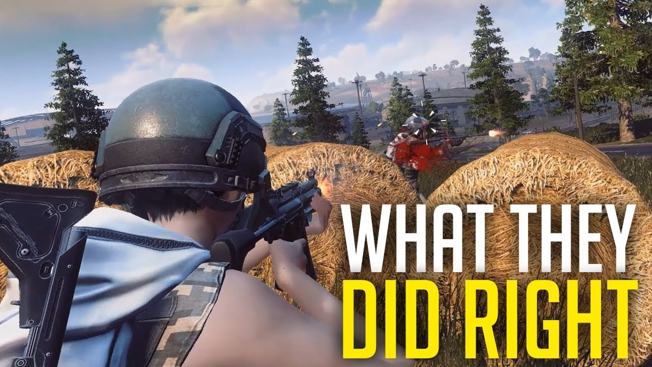What RoE Devs Did Right! (Ring of Elysium)