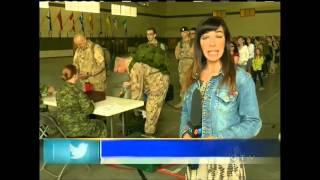 Troops leaves CFB Shilo for Afghanistan for the last time