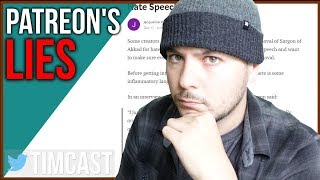 Patreon DOUBLE DOWN On Sargon Ban, More Lies, More BS