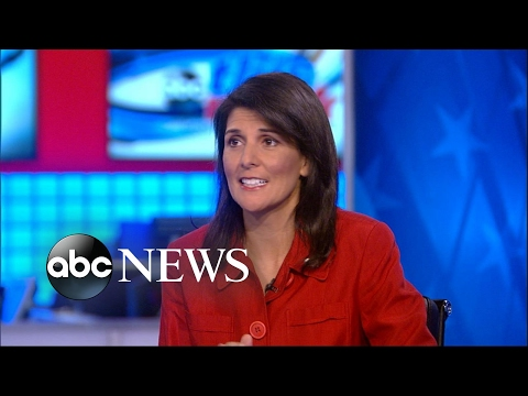 Haley on North Korea: 'Having a missile test is not the way to sit down with the president'