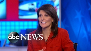 Haley on North Korea  'Having a missile test is not the way to sit down with the president'