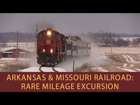 Arkansas & Missouri Railroad: Rare Mileage Excursion