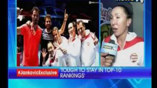 Former women's World no. 1 tennis player Jelena Jankovic speaks to NewsX