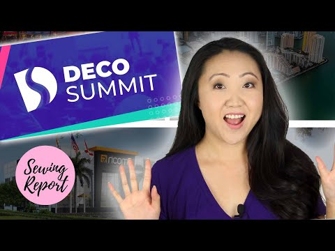 Miami Bound! 🌴 DecoSummit Conference at Ricoma HQ | SEWING REPORT