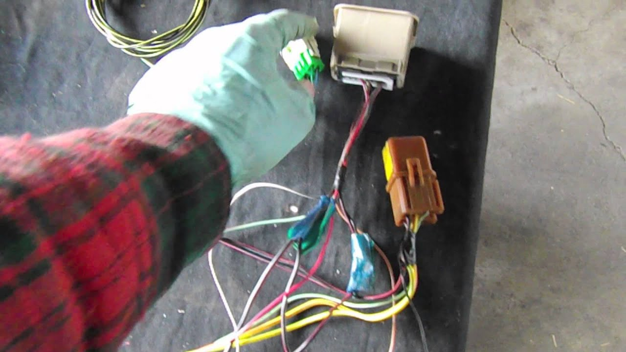 Obd Wire Loom Data Wiring Harness Tubing Subaru Obd2 Vanagon Engine Swap Part 5 Youtube Rh Com Automotive Split