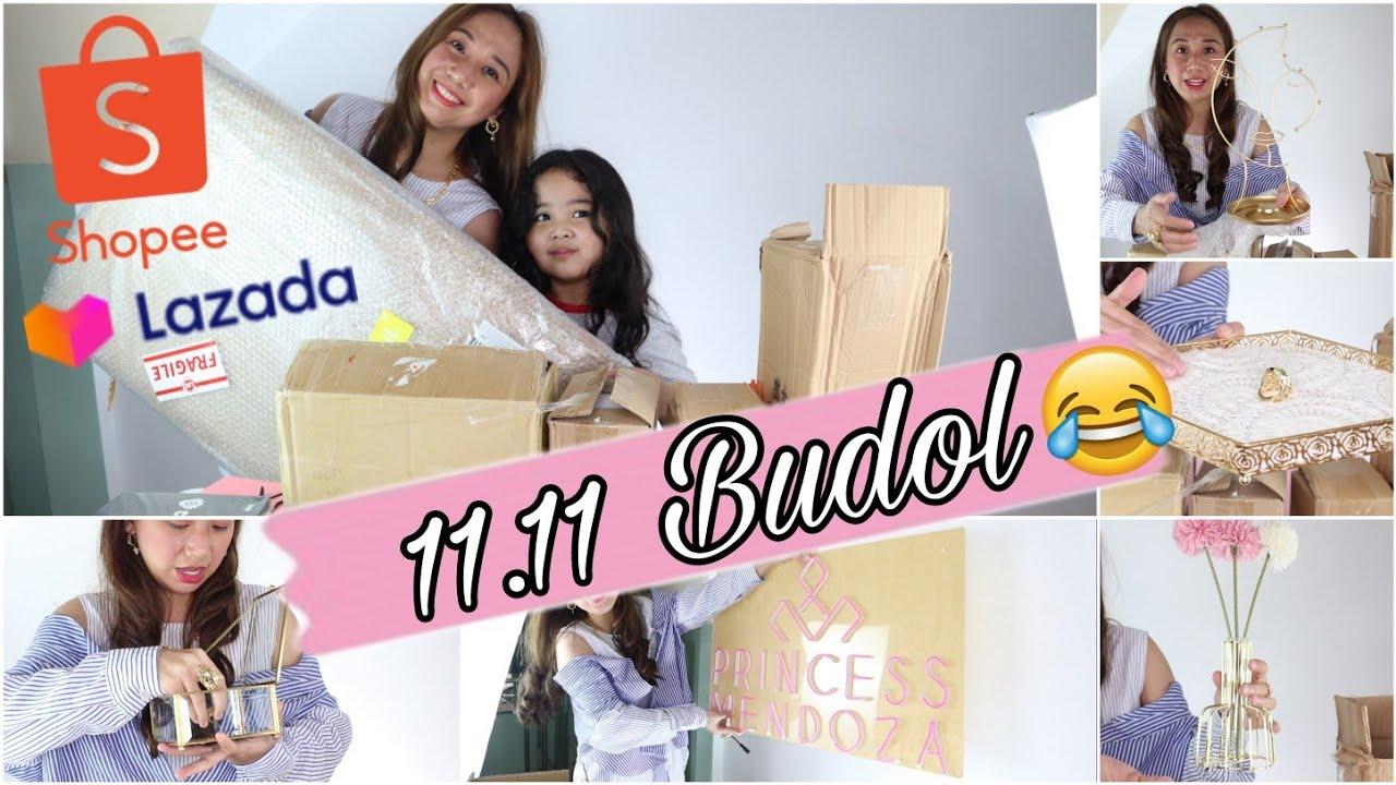 UNBOXING MY 11.11 SHOPEE & LAZADA HAUL. NAGPUYAT AKO PARA DITO hAhA!