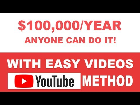 💵($100,000 JOB) How To Make Money On Youtube Without Making Videos Step By Step 2020