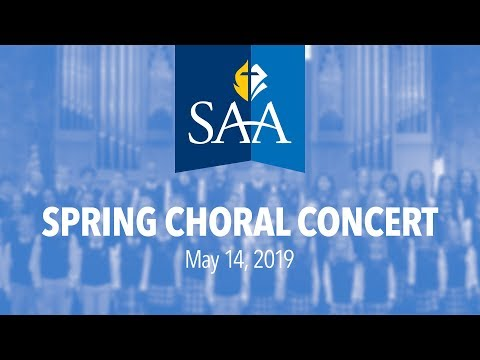Spencerville Adventist Academy Spring Choral Concert - May 14, 2019