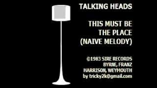Talking Heads - This must be the place (Naive Melody) - Karaoke - Instrumental cover